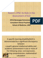 Ravens CPM Its Role In The Assessment Of SLD (Narasappy Kumaraswamy).pdf