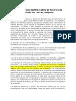 Boras y Edquist La Eleccion de Instrumentos de Politica de Innovacion Resumen
