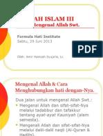 Akidah Islam 3