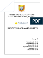 ERP Implementation in Dalmia Cements