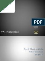 VW1  Péndulo Físico