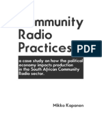 Community Radio Practices
