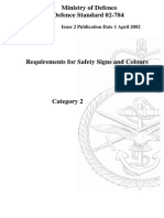 NES 784 Requirements for Safety Signs an Colours