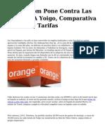 <h1>Amena.com Pone Contra Las Cuerdas A Yoigo, Comparativa Entre Las Tarifas</h1>