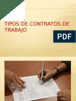 Tipos de Contratos de Trabajo