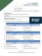 Conditional - B2 Assignment Pro Elt