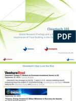 Cleantech 101