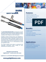 High Pressure Diffuser FOR qualification of compressed air according to ISO 8573