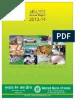 AnnualReport201314 Ubi