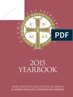 yearbook της ελληνορθόδοξης αρχιεπισκοπής Αμερικής για το 2015.