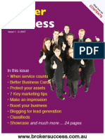 Broker Success Issue 1