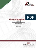 Time Management (SB)