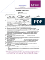 File 78 Contract de Depozit