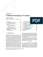 Colloidal Processing of Ceramics
