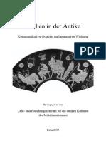 Christian Frevel, Kultständer Als Medien (2003)