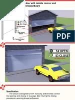 Design Garage Door Shutter Motor Control