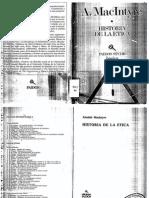 McIntyre Historia de La Etica
