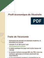 Australia's economic profile. Le profil economique de l'Australie.