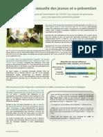Santé sexuelle des jeunes et e-prévention