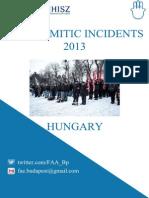 AntisemitismHungary2013 ENG
