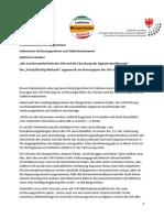 Südtirol in Gefahr! Pressekonferenz der BürgerUnion zur Verfassungsreform
