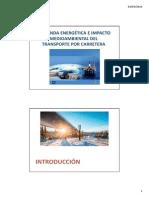 Tema6 Demanda Energética e Impacto Medioambiental Del Transporte