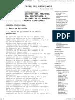Retribuciones Del Personal Sanitario. Carrera Profesional y Desarrollo Profesional en El Ámbito de Las Instituciones Sanitarias