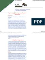 Different Suspensions - Walking Beam Suspension