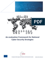 An Evaluation Framework for Cyber Security Strategies