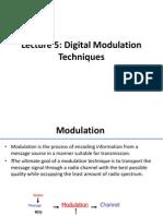 Lecture5 Digital Modulation