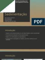 Sedimentação