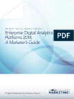 Market Intelligence Report - Digital Analytics