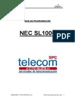 Guía de Programación SL 1000