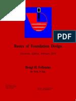 Basics of Foundation Design - Fellenius