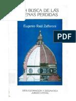Eugenio Raul Zaffaroni - En Busca De Las Penas Perdidas - 2º Reimpressão.pdf