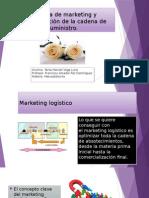 Logística de Marketing y Administración de La Cadena de Suministros