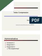 Lecture4 Compression