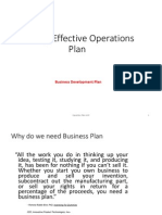Making Effective Operations Plan Copy