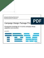 Handout Campaign Design Package