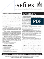 Freshfiles - Labelling