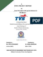 TVS MOTORS - Customer Perception-46.doc
