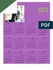 Calendario Heidy Torres Cardona