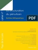 La Structuration Du Périurbain - Synthèse Biblio - Laurent Devisme