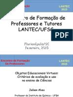 0_OEV Criterios de Avaliação e Uso LANTEC 2015