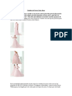 Vestidos de Novia Color Rosa