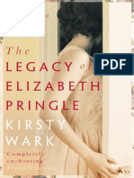 THE LEGACY OF ELIZABETH PRINGLE by Kirsty Wark - Book group reading notes