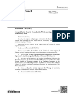 UN Security Council Resolution 2202