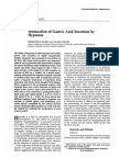 Modulation of Gastric Secretion