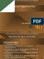 Recursos de Agua en el Perú - Cornejo.ppt