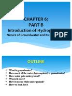 Chapter - Hydrogeology